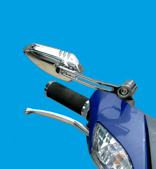 【POSH】扁平低角度後視鏡(翼型式) - 「Webike-摩托百貨」