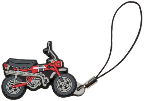 【HONDA RIDING GEAR】PVC橡膠手機吊飾 - 「Webike-摩托百貨」