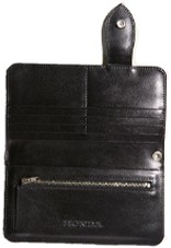 【HONDA RIDING GEAR】經典型皮革製 Biker 皮夾 - 「Webike-摩托百貨」