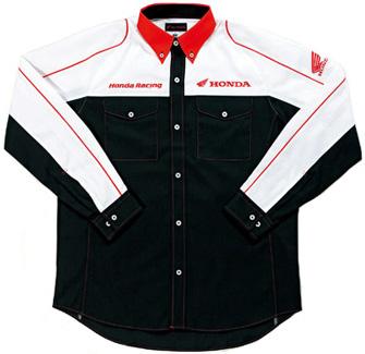 【HONDA RIDING GEAR】維修人員襯衫(經理服)LS - 「Webike-摩托百貨」