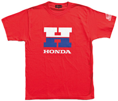 【HONDA RIDING GEAR】圖案T恤3 - 「Webike-摩托百貨」