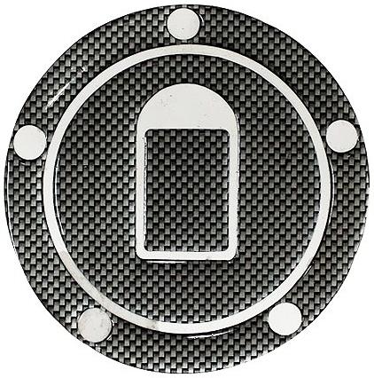 MADMAX マッドマックス:カワサキ車5穴汎用 タンクキャップカバー2