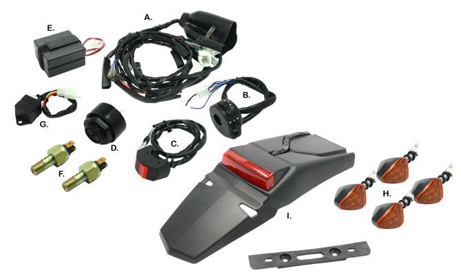 【DRC】EZ電系套件 - 「Webike-摩托百貨」