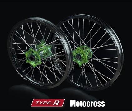 TGR TECHNIX GEAR ティージーアールテクニクスギア TGRテクニクスギアTYPE-R Motocross(モトクロス)用ホイール(前後セット)