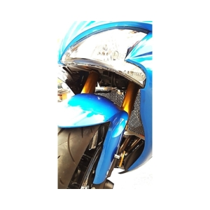 Stainless Steel Radiator Guard GSX-S1000|GSX-S1000F
