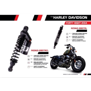 Rear Shock Forty Eight