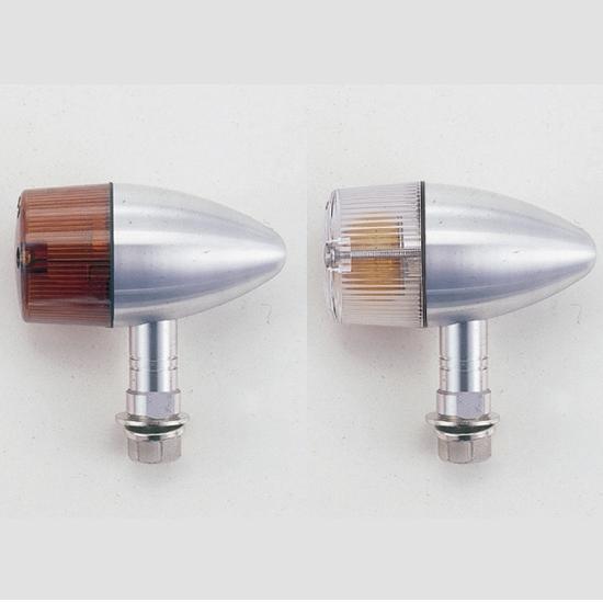 【POSH】砲彈型中型方向燈(短支架) - 「Webike-摩托百貨」