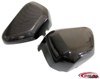 Overall オーバーオールAir Duct L/R carbon fiber Honda Monkey125