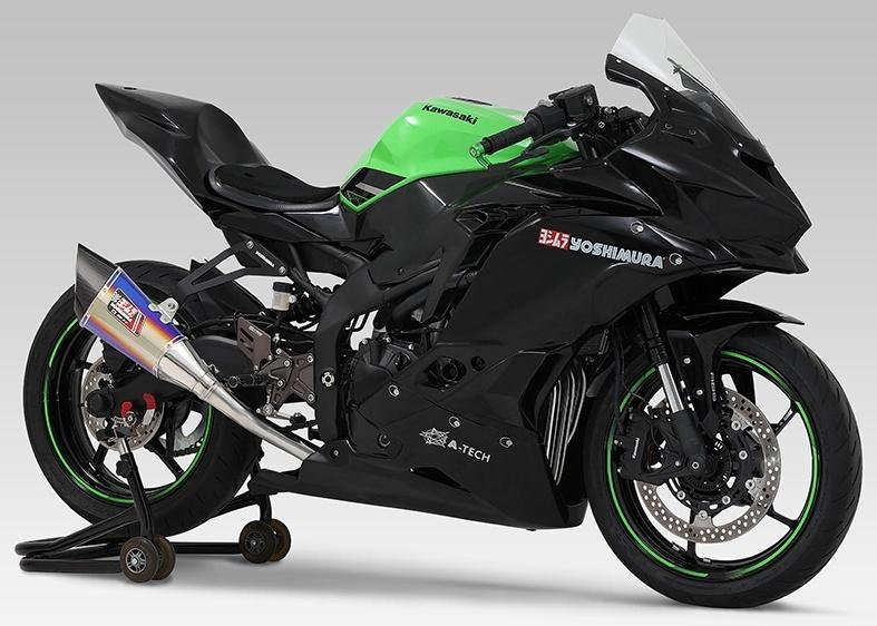 R-11 レーシングサイクロン 1エンド フルエキゾーストマフラー
