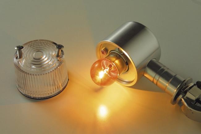 【POSH】S25(Nath)型鍍鉻橘色燈泡 - 「Webike-摩托百貨」