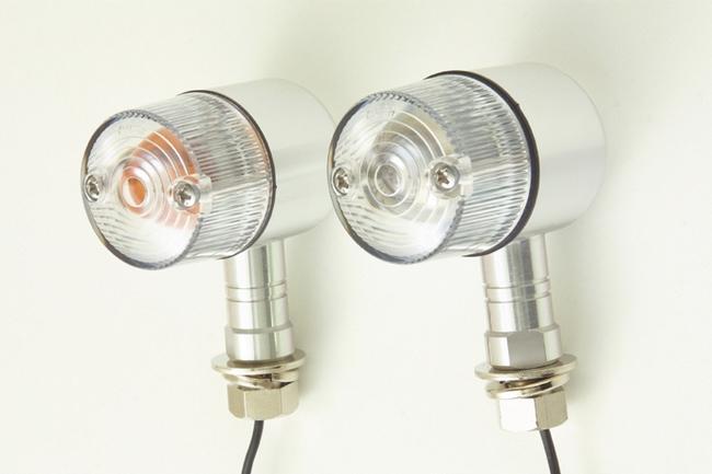 【POSH】T13 (Wedge) 型鍍鉻橘色燈泡 - 「Webike-摩托百貨」