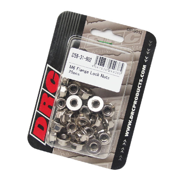【DRC】M6 不銹鋼  防滑螺帽 - 「Webike-摩托百貨」