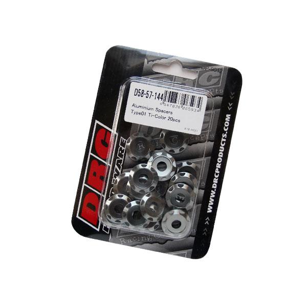 【DRC】Φ18 M6 鋁合金墊片 TYPE 01 - 「Webike-摩托百貨」