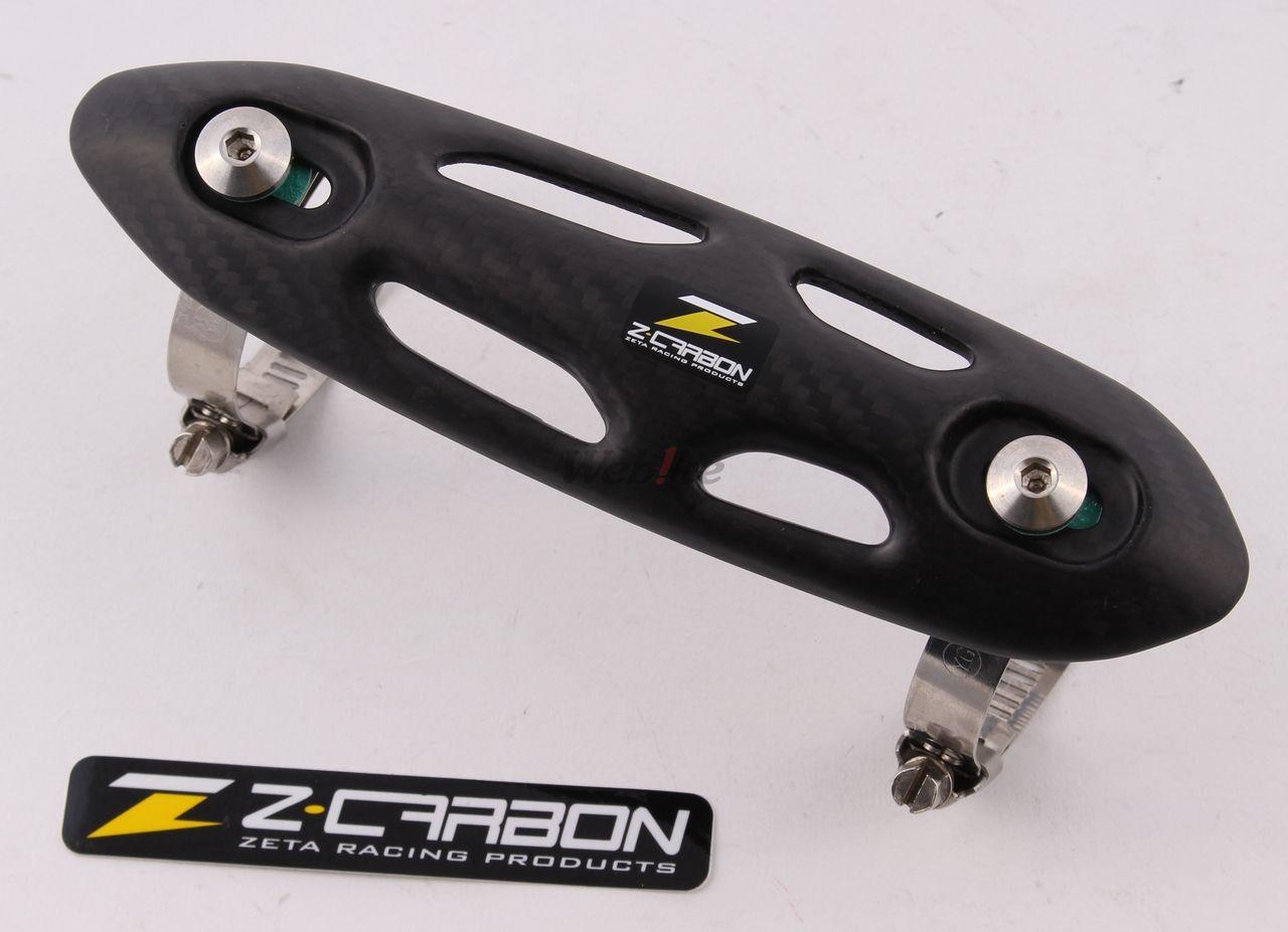 【ZETA】Z-Carbon EX碳纖維排氣管防燙蓋(通用型) - 「Webike-摩托百貨」