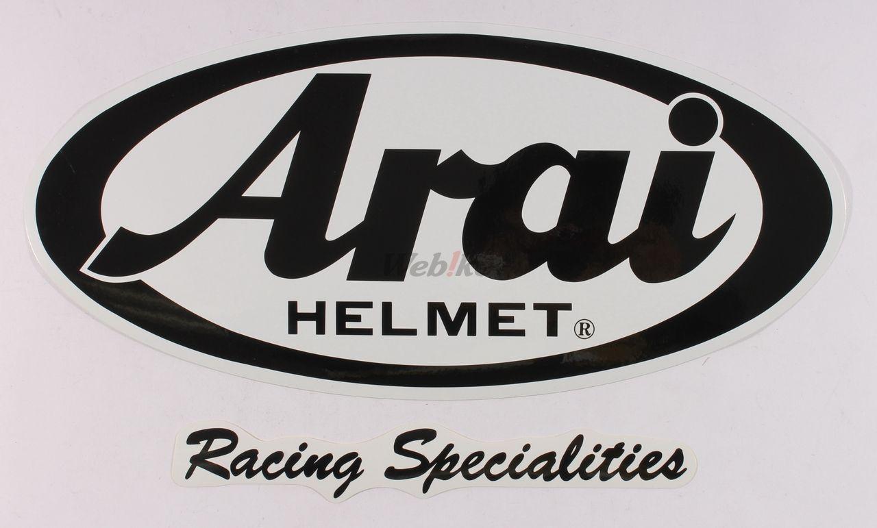 【Arai】ARAI 競賽型貼紙 - 「Webike-摩托百貨」