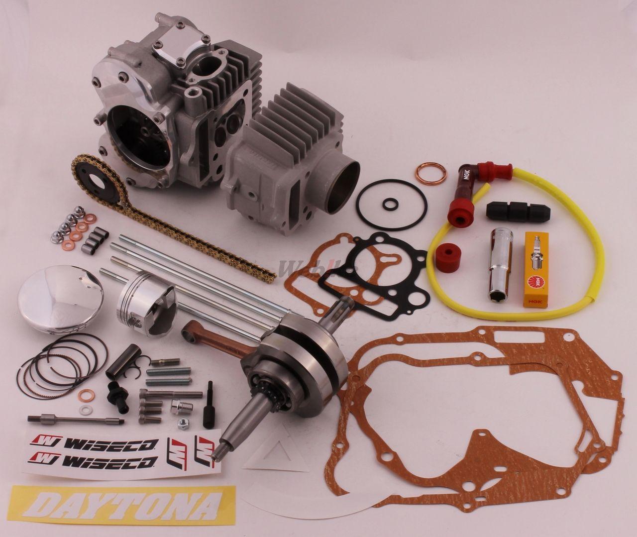 Finger Follower DOHC 125CC Bore & Stroke Up Kit