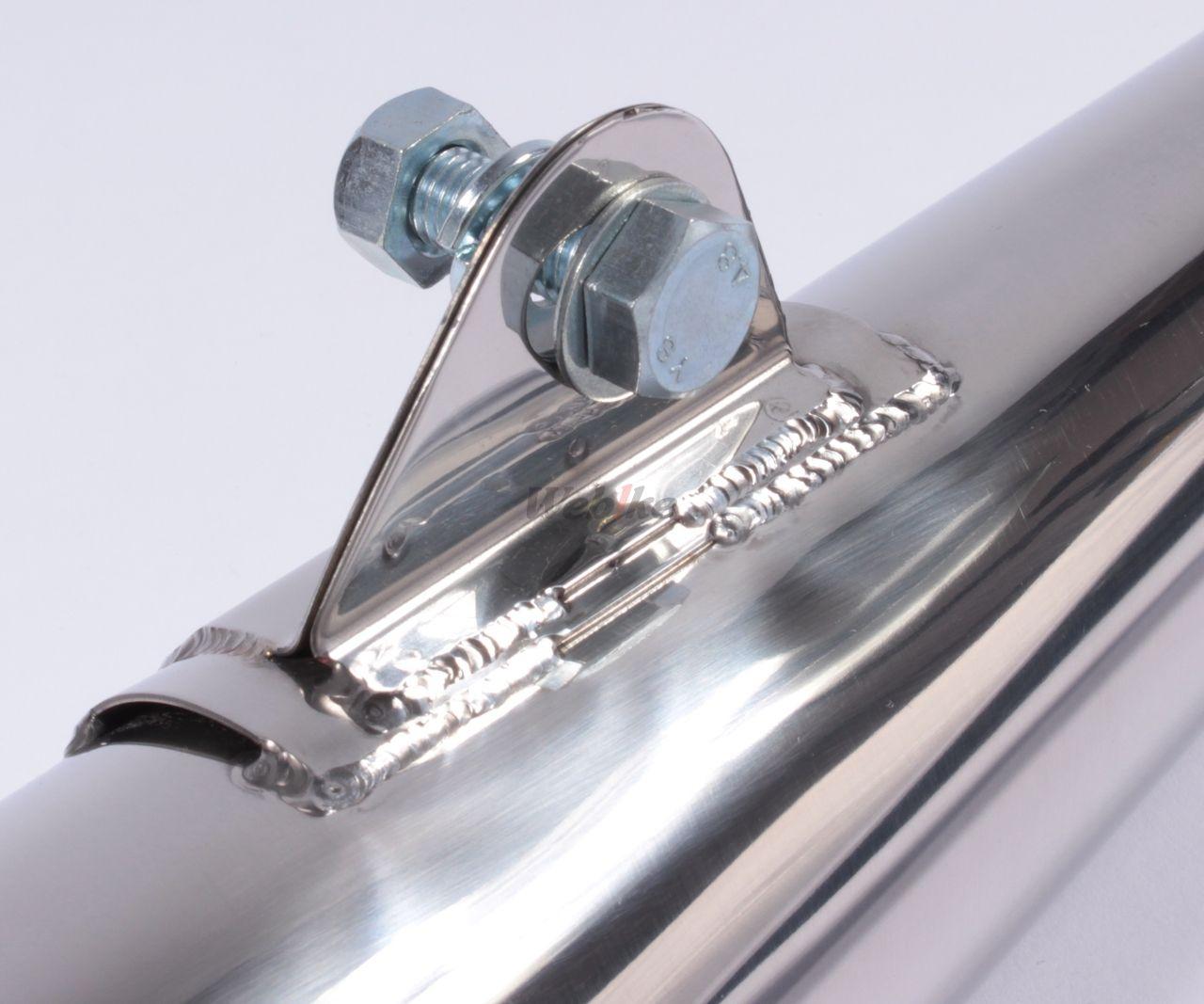 【Peyton Place】Norton Type 不銹鋼排氣管尾段 - 「Webike-摩托百貨」