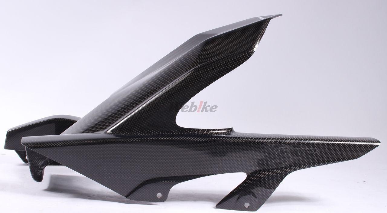 【STRIKER】Aero Design 碳纖維後土除 一般後搖臂專用 - 「Webike-摩托百貨」