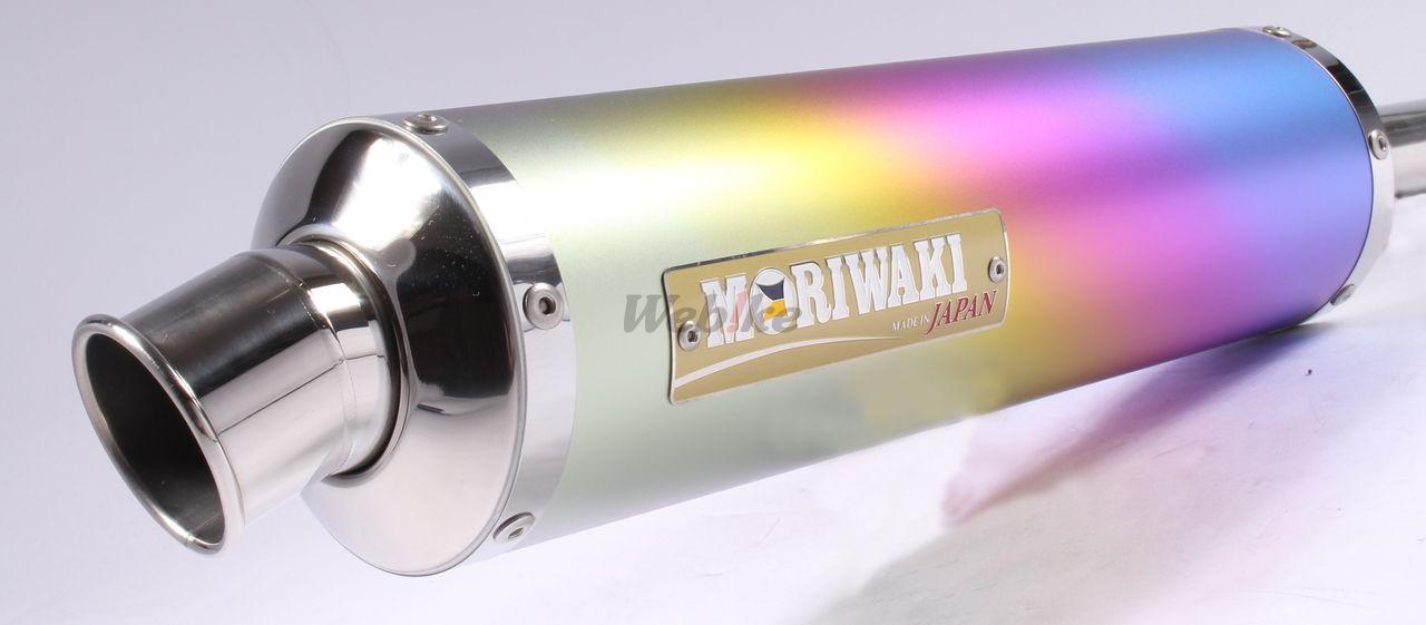【MORIWAKI】ZERO 全段排氣管 【鈦陽極處理】 - 「Webike-摩托百貨」