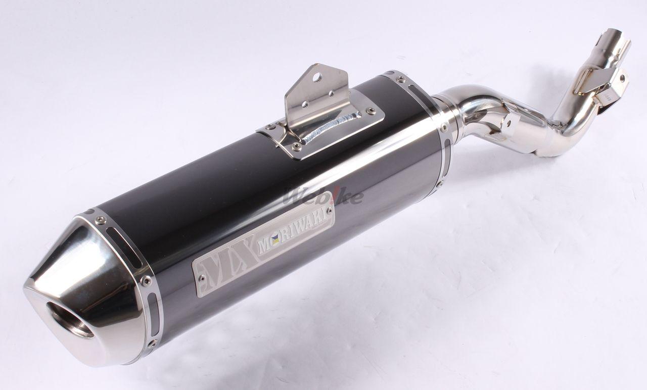 【MORIWAKI】MX BLACK PEARL 排氣管尾段 - 「Webike-摩托百貨」