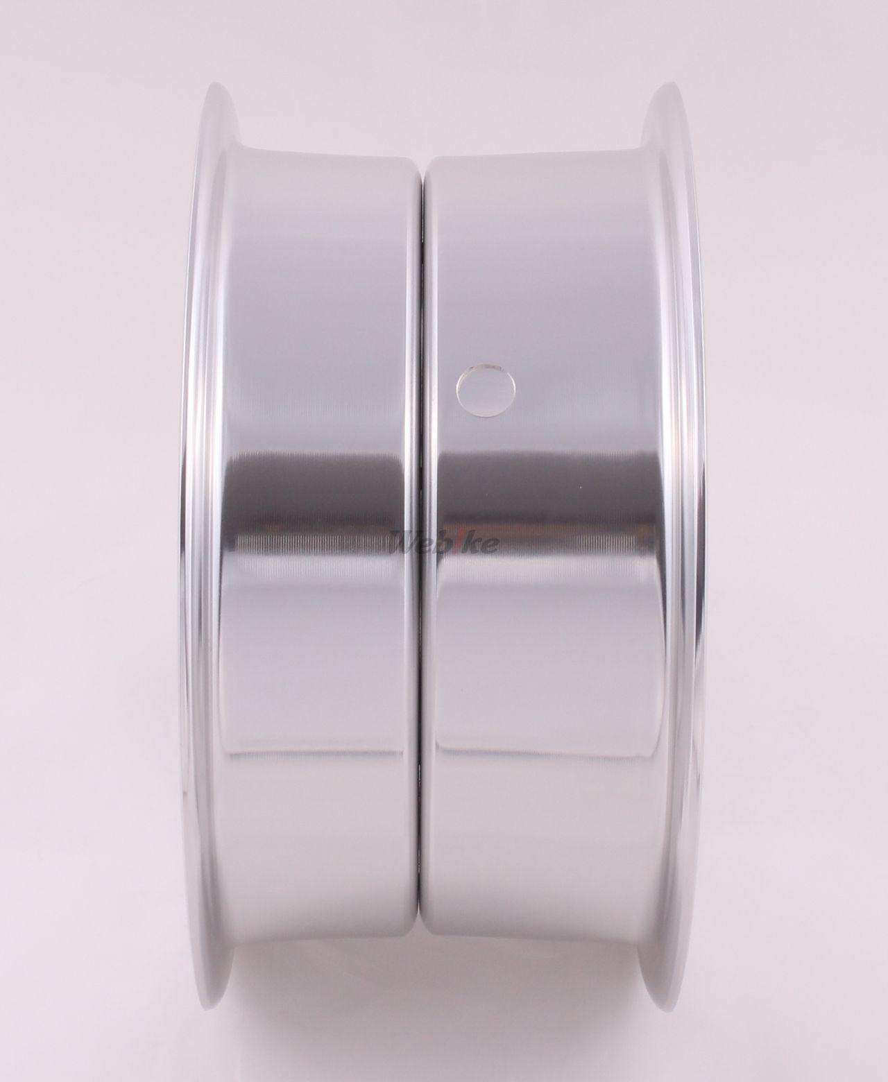 【G-Craft】4.0J 8孔型式 銀色8英吋寬版輪框  - 「Webike-摩托百貨」
