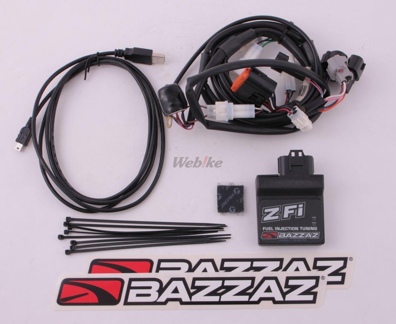 【YOSHIMURA】BAZZAZ : Bazaars Z-Fi MX 油量控制組 - 「Webike-摩托百貨」