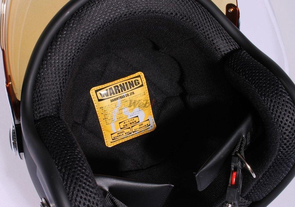 【DAMMTRAX】BUBBLE BEE泡泡風鏡安全帽 - 「Webike-摩托百貨」