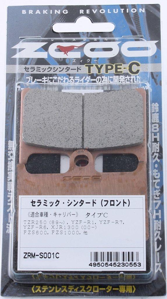 【ZCOO】煞車來令片 Type C - 「Webike-摩托百貨」