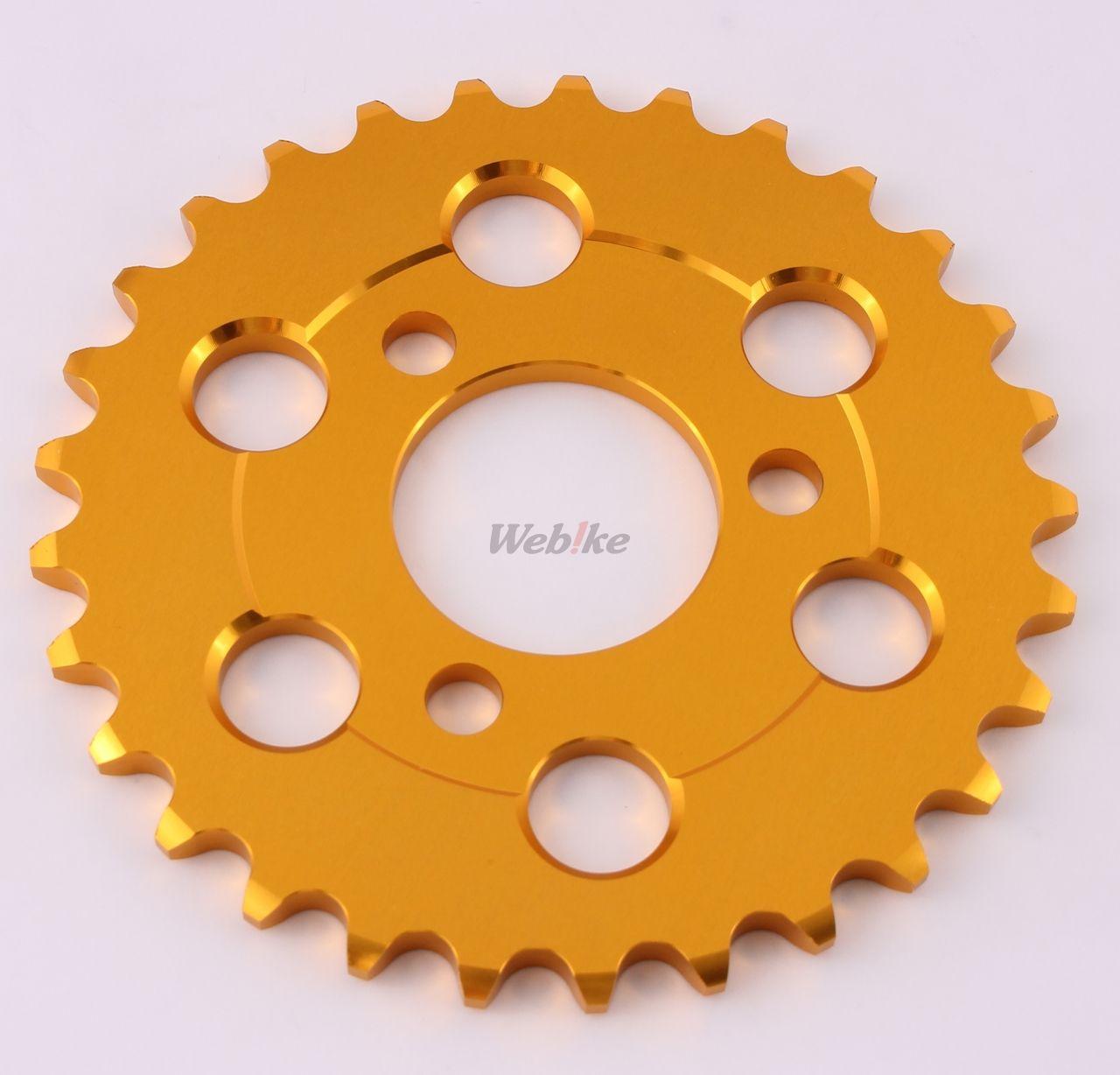 【MINIMOTO】Monkey29T鋁合金齒盤 金色 - 「Webike-摩托百貨」