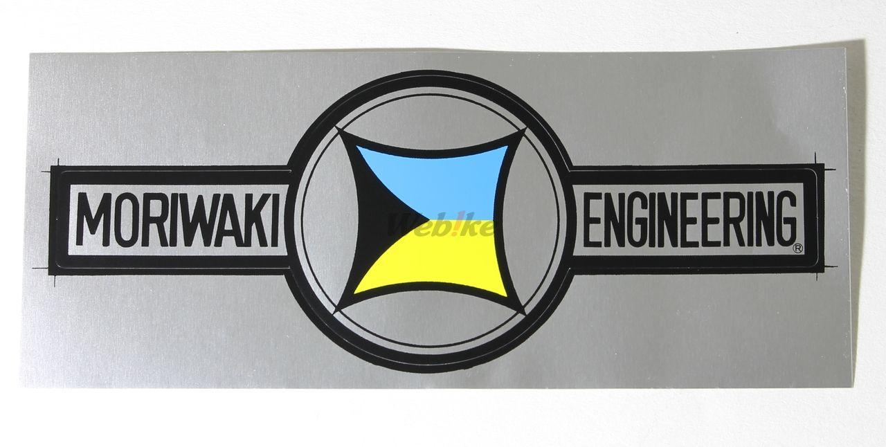 【MORIWAKI】耐熱商標貼紙 - 「Webike-摩托百貨」