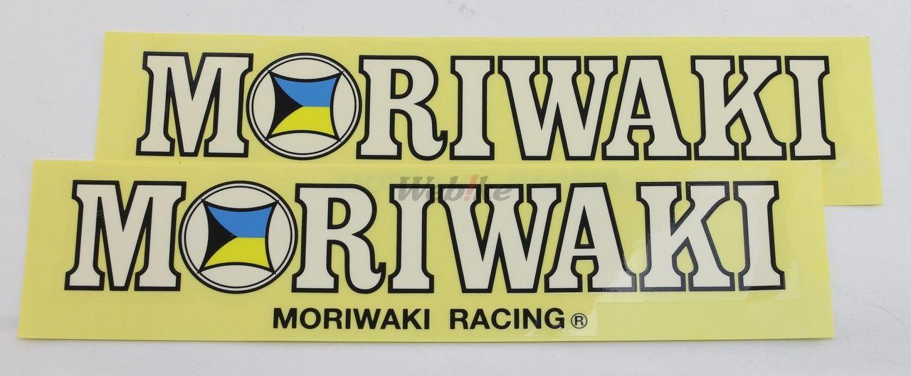 【MORIWAKI】MORIWAKI RACING 貼紙/L - 「Webike-摩托百貨」