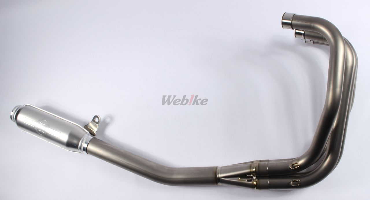 【MORIWAKI】TITAN MONSTER 全段排氣管 - 「Webike-摩托百貨」