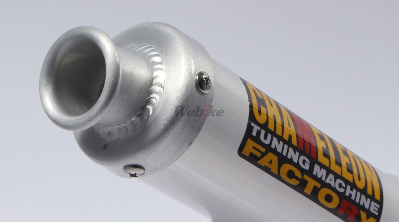 【Chameleon Factory】ParalyzerIII 膨脹室排氣管 - 「Webike-摩托百貨」