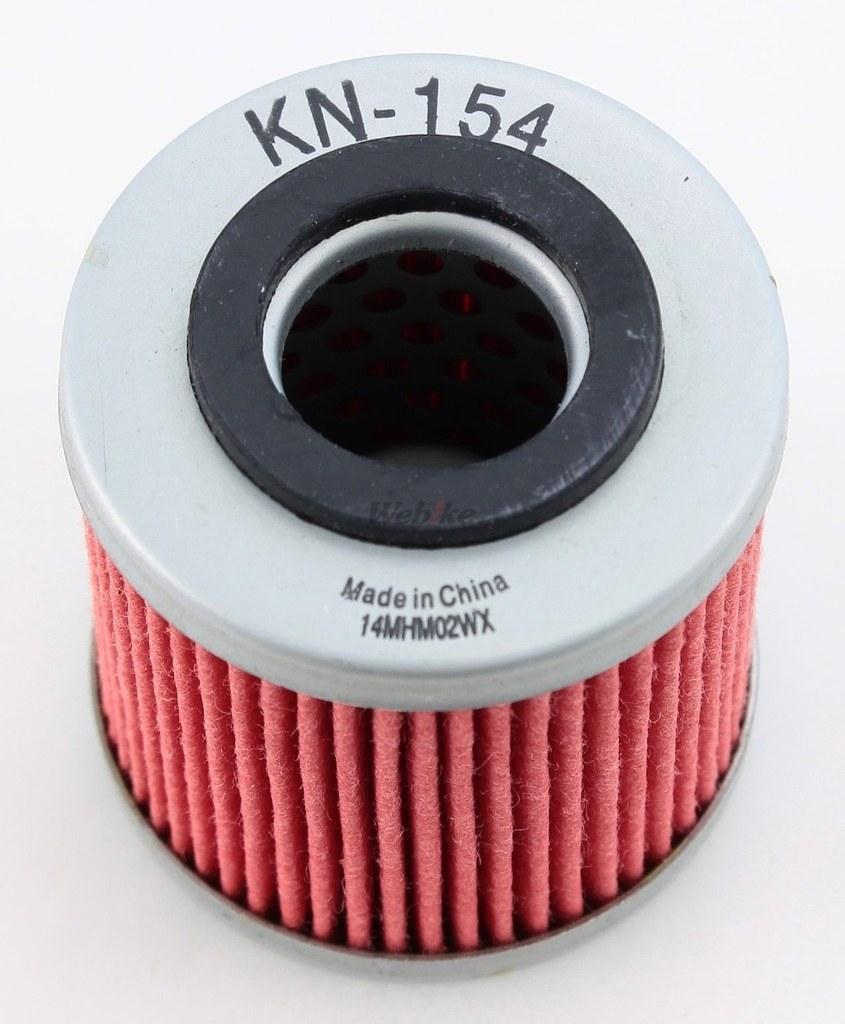 【K&N】KN-154 機油濾芯 - 「Webike-摩托百貨」