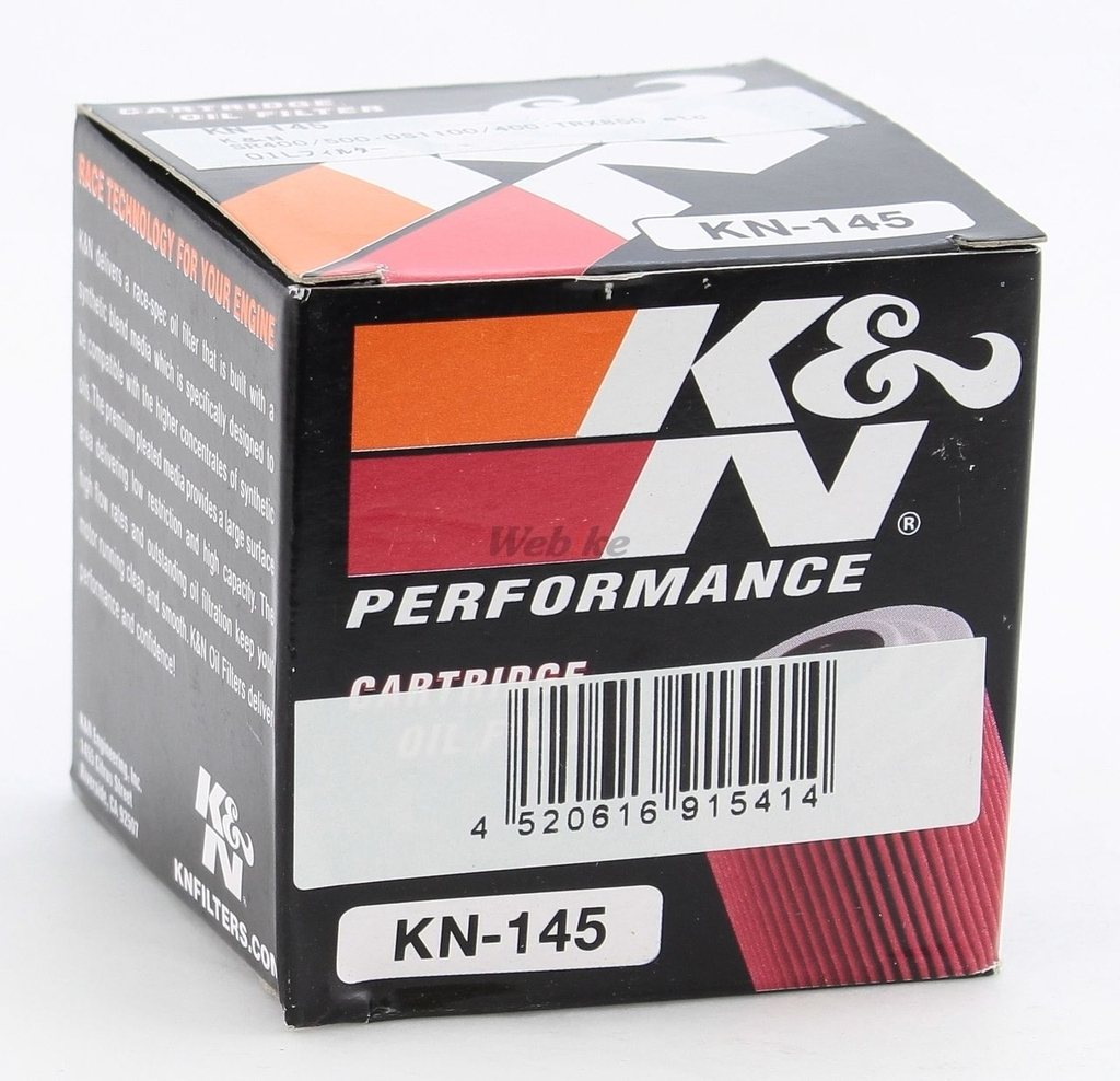 【K&N】KN-145 機油濾芯 - 「Webike-摩托百貨」