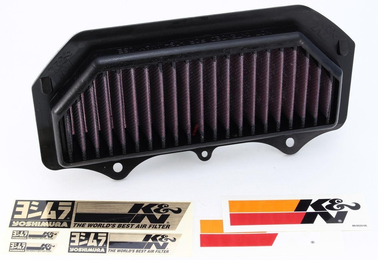 【YOSHIMURA】K&N可更換型空氣濾芯 - 「Webike-摩托百貨」