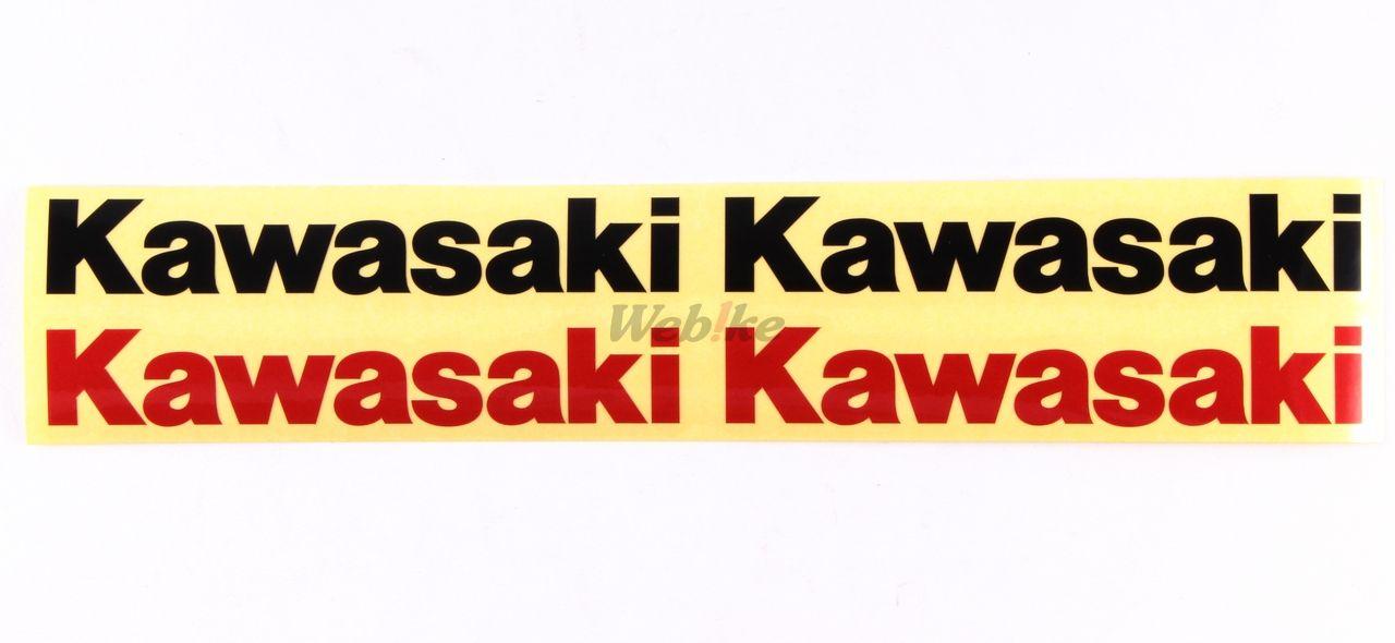【KAWASAKI】Kawasaki 反射貼紙 - 「Webike-摩托百貨」