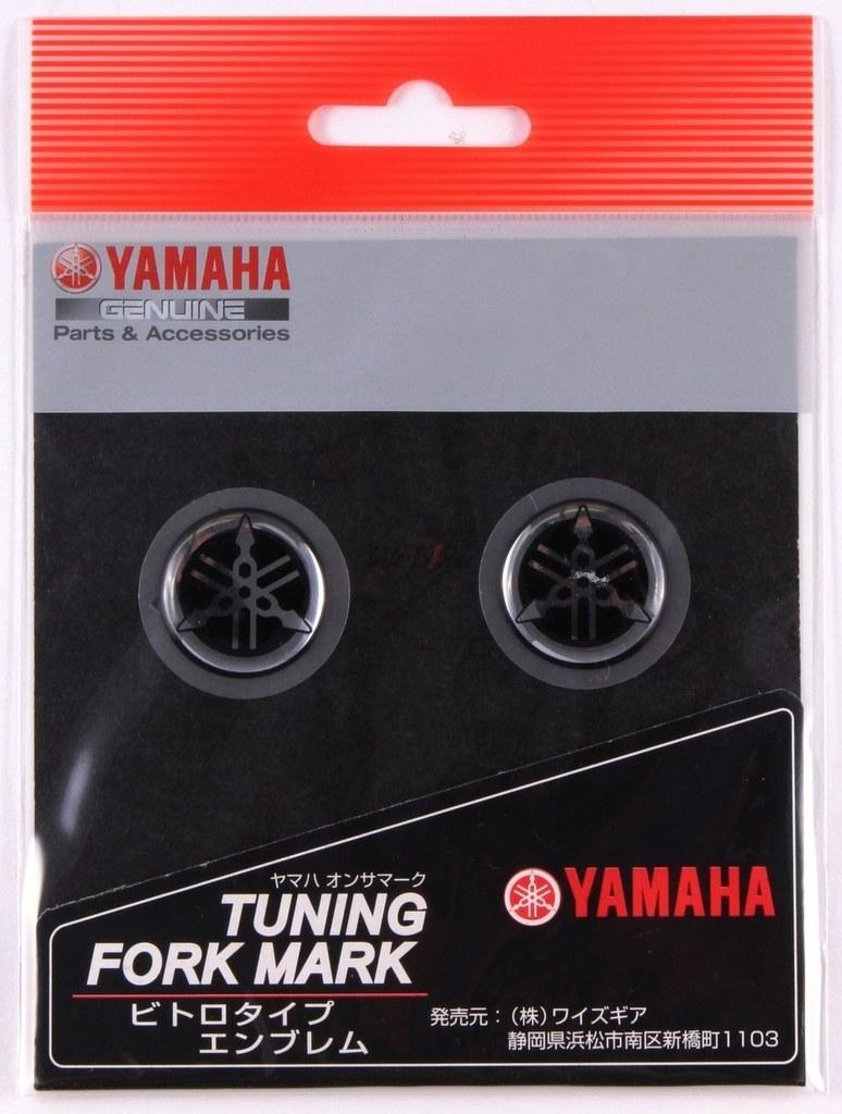 【YAMAHA】YAMAHA音叉貼紙 25φ - 「Webike-摩托百貨」