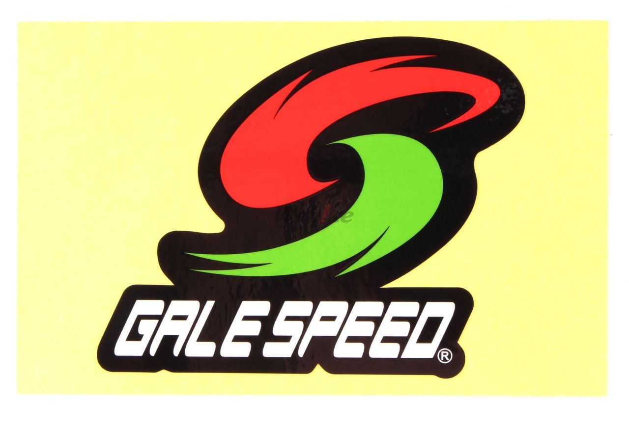 【GALE SPEED】LOGO貼紙 - 「Webike-摩托百貨」