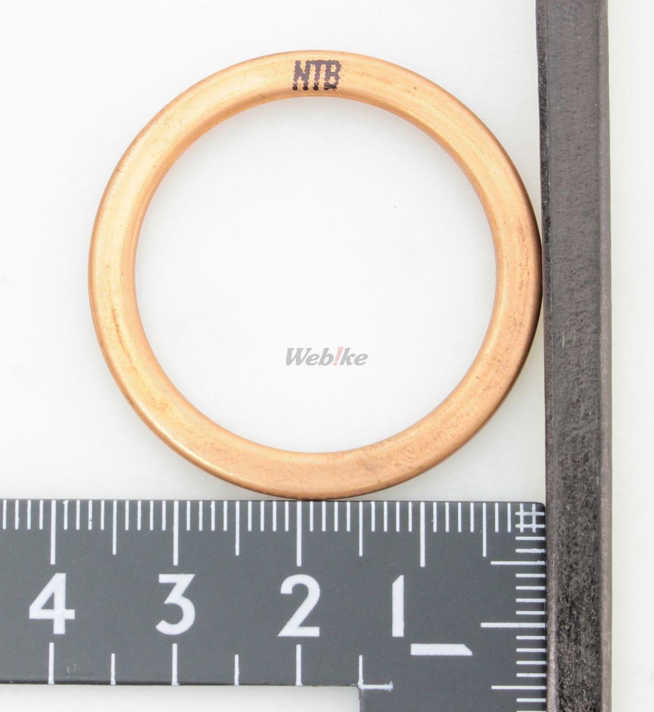【NTB】排氣管墊片 - 「Webike-摩托百貨」