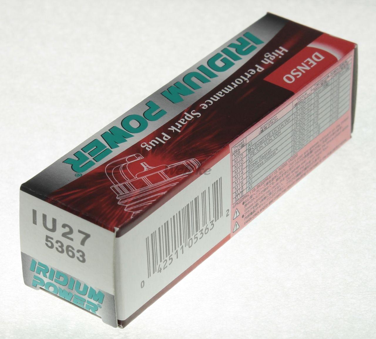【DENSO】銥合金 火星塞 IU27 - 「Webike-摩托百貨」