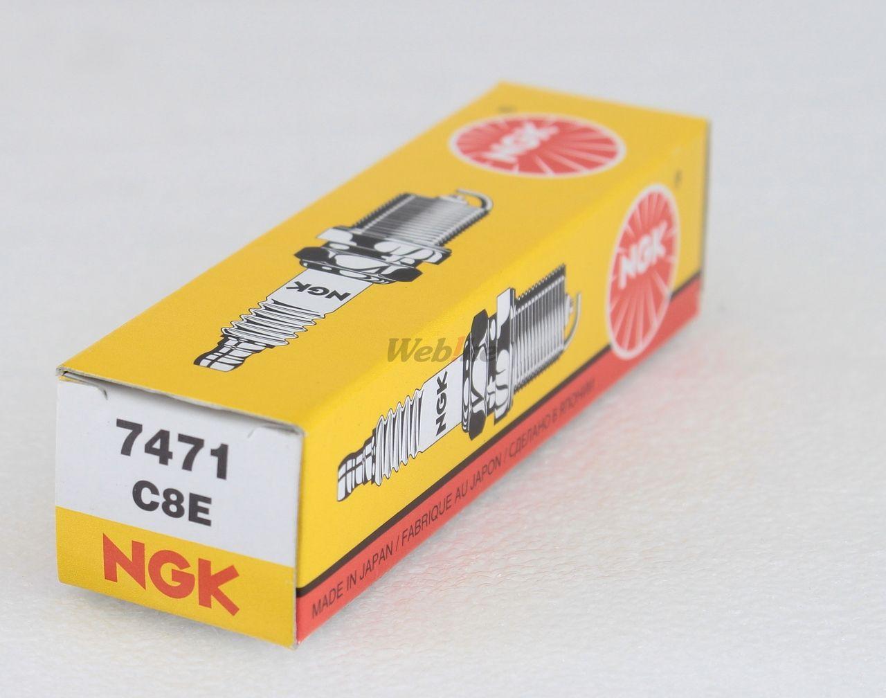 【NGK】標準型 火星塞 C8E 7471 - 「Webike-摩托百貨」