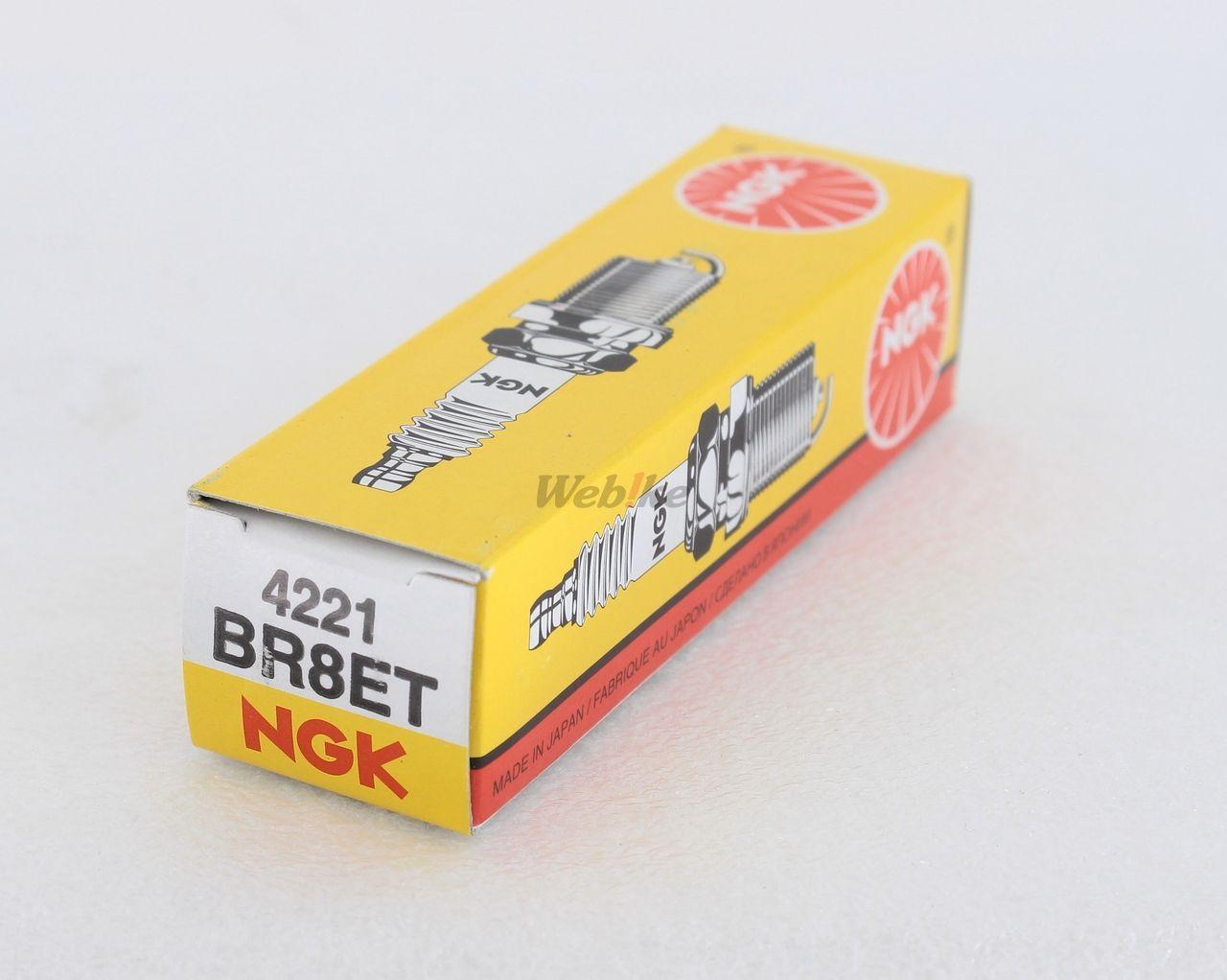 【NGK】標準型 火星塞 BR8ET 4221 - 「Webike-摩托百貨」