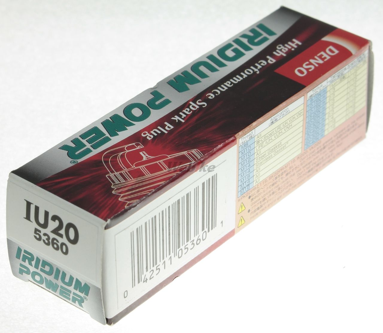 【DENSO】銥合金 火星塞 IU20 - 「Webike-摩托百貨」