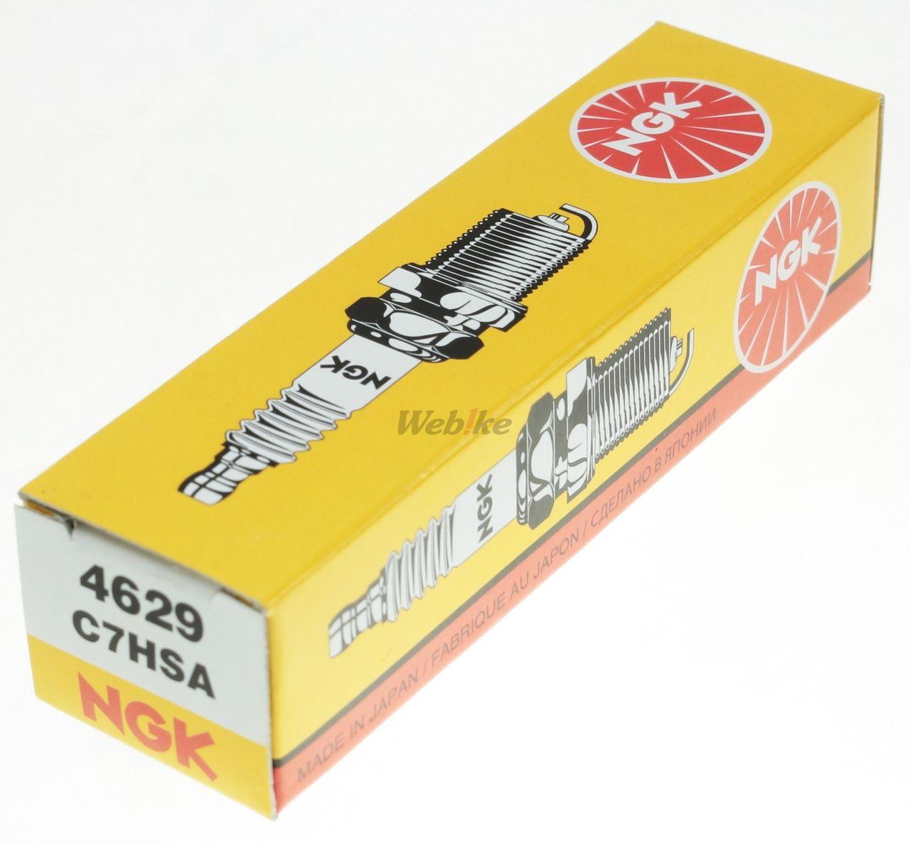 【NGK】標準型 火星塞 C7HSA 4629 - 「Webike-摩托百貨」