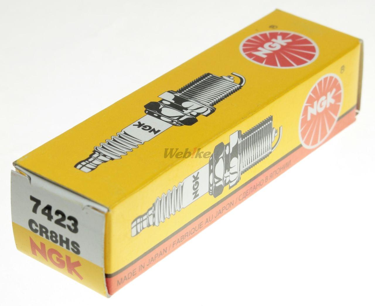 【NGK】標準型 火星塞 CR8HS 7423 - 「Webike-摩托百貨」