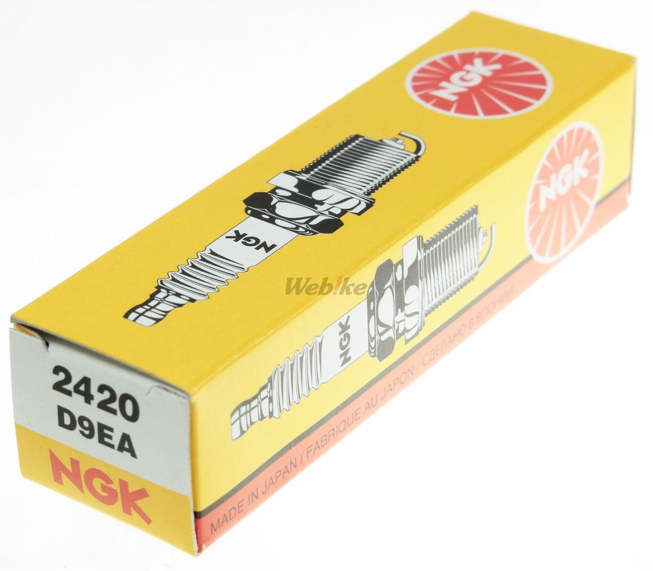 【NGK】標準型 火星塞 D9EA 2420 - 「Webike-摩托百貨」