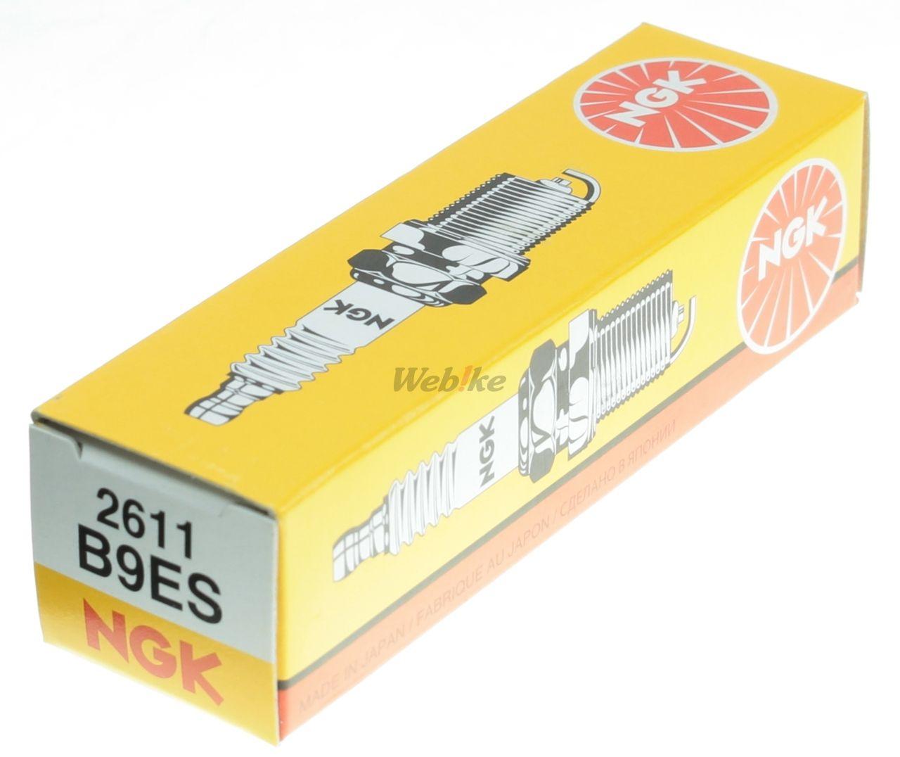 【NGK】標準型 火星塞 B9ES 2611 - 「Webike-摩托百貨」
