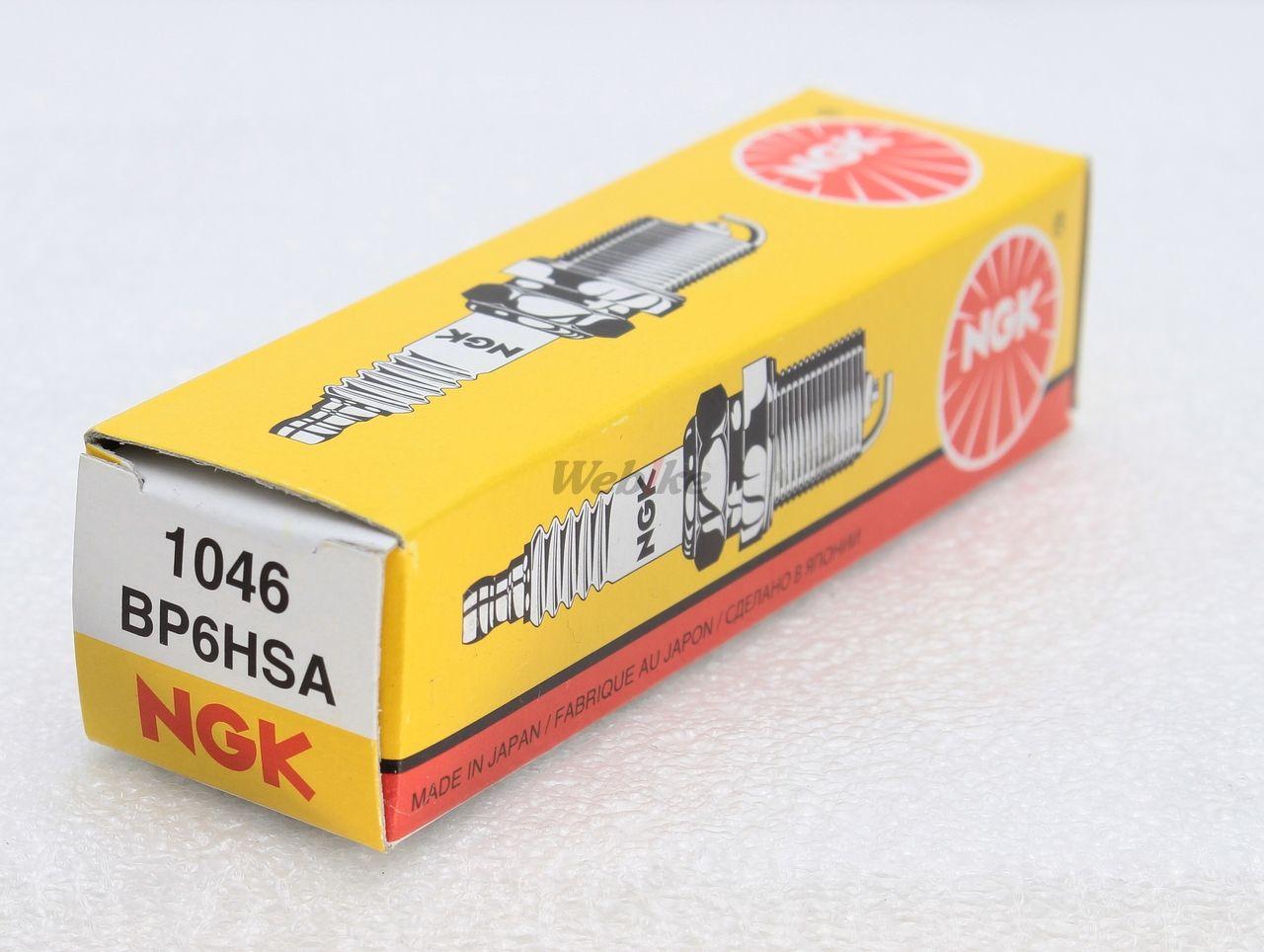 【NGK】標準型 火星塞 BP6HSA 1046 - 「Webike-摩托百貨」
