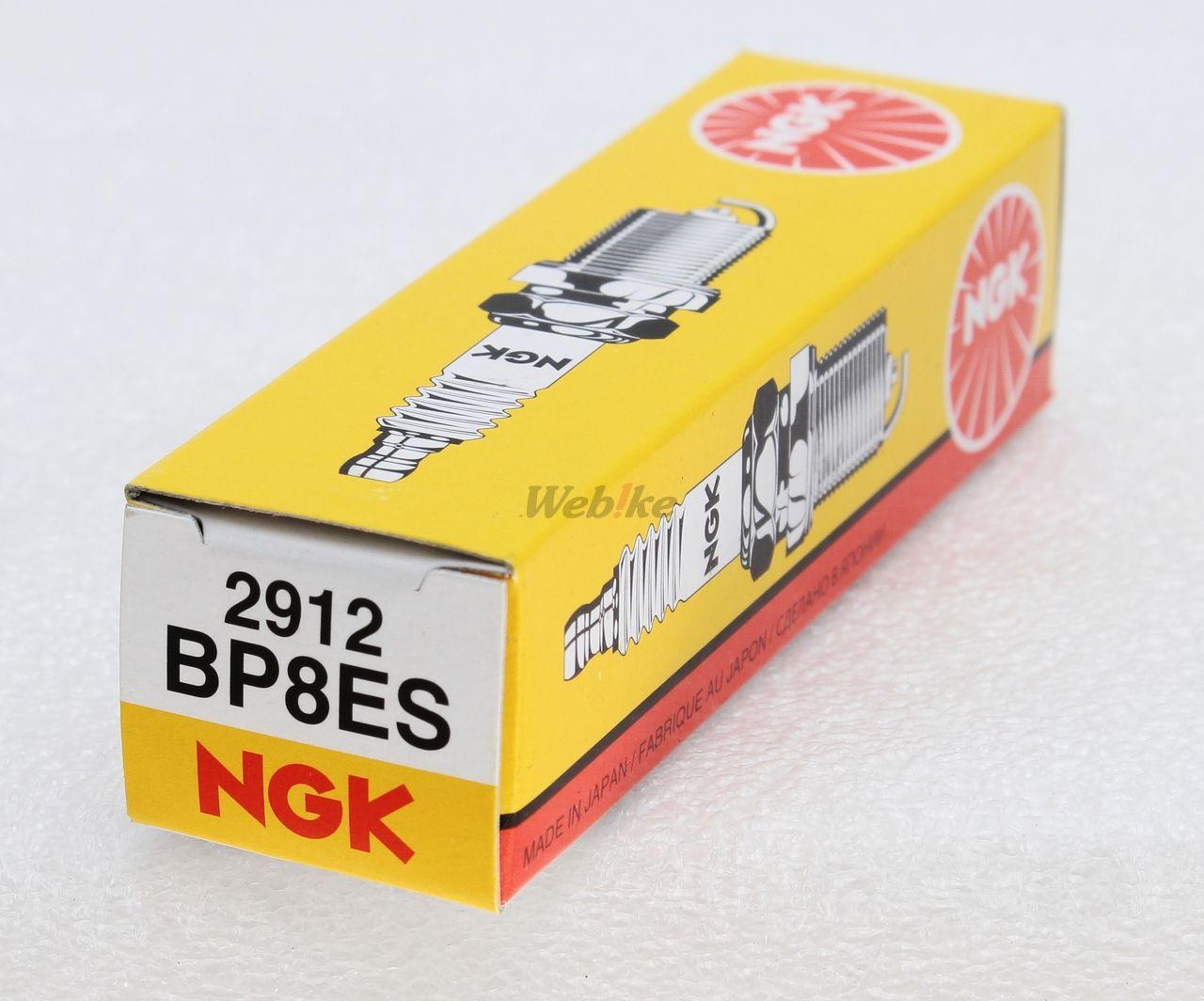【NGK】標準型 火星塞 BP8ES 2912 - 「Webike-摩托百貨」